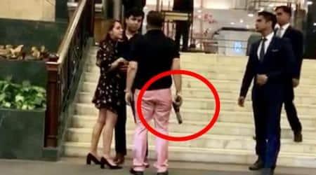 Ex-BSP MP's son arrested for brandishing pistol at Delhi hotel gets 14-day judicialcustody