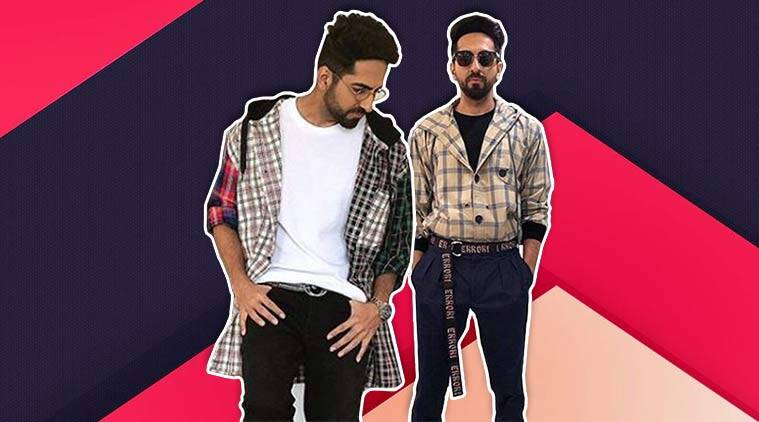 Ayushmann Khurrana, AndhaDhun, Ayushmann Khurrana style, Ayushmann Khurrana quirky looks, Ayushmann Khurrana cool style, Ayushmann Khurrana updates, Ayushmann Khurrana latest news, Ayushmann Khurrana latest pics, celeb fashion, bollywood fashion, indian express, indian express news