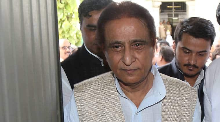 azam khan, jaya prada, azam khan jaya prada contorversy, ec action on azam khan, azam khan son, azam khan barred from campaigning, khaki underwear, lok sabha elections, lok sabha polls, indian express