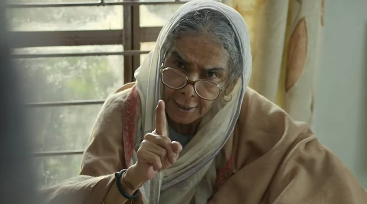 Badhaai Ho actor Surekha Sikri: I don't have wish to retire, I can go on  and on | Entertainment News,The Indian Express
