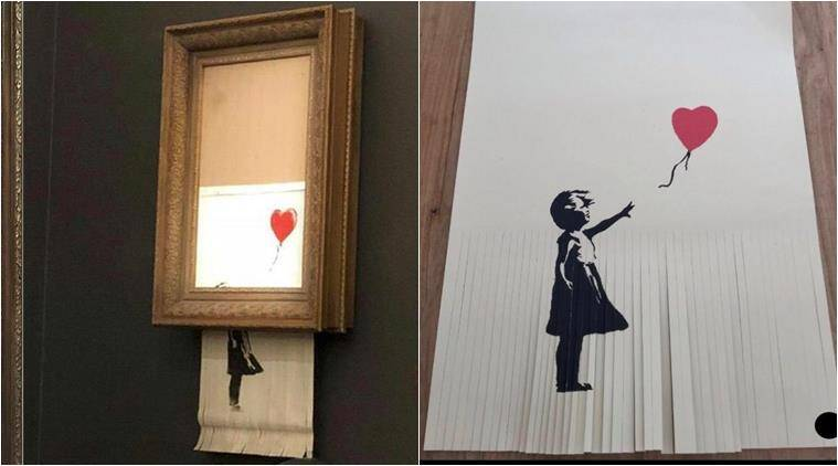 The owner requested to double the price after the Banksy copy was destroyed with a knife