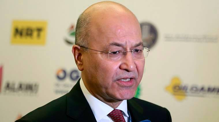 Iraq elects new president in step toward forming government