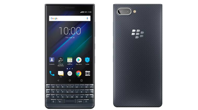 BlackBerry KEY2 LE launched in India at Rs 29,990, sale from October 12 on Amazon India