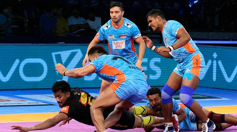 Pro Kabaddi 2018 Bengal Warriors Beat Telugu Titans 30 25