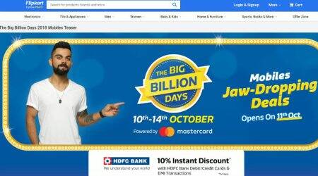 Flipkart Big Billion Days, Big Billion Days sale 2018, Flipkart sale, iPhone XS Max Flipkart price, smartphone deals Big Billion Days, Samsung Galaxy Note 9 Flipkart deals, offers on premium phones, Vivo V11 Pro, Galaxy A7, LG G7+ ThinQ, budget smartphones, Oppo F9 Pro, best smartphone deals, Flipkart mobile offers