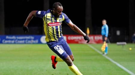 WATCH: Usain Bolt fires two goals in Central Coast Marinerstrial