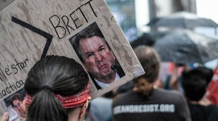 Republicans aim to confirm Brett Kavanaugh this weekend; protesters arrested
