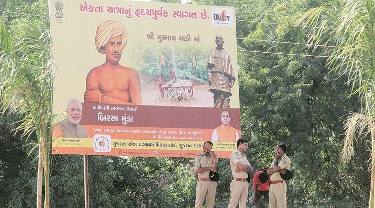 Modi ekta yatra, statue of unity, Birsa Munda
