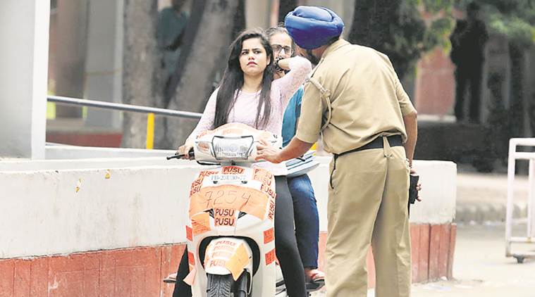 Sikh women exempted from wearing helmet in Chandigarh