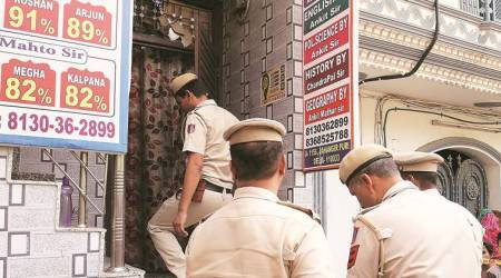 Delhi: For students, day of exam takes a traumatic turn inJahangirpuri