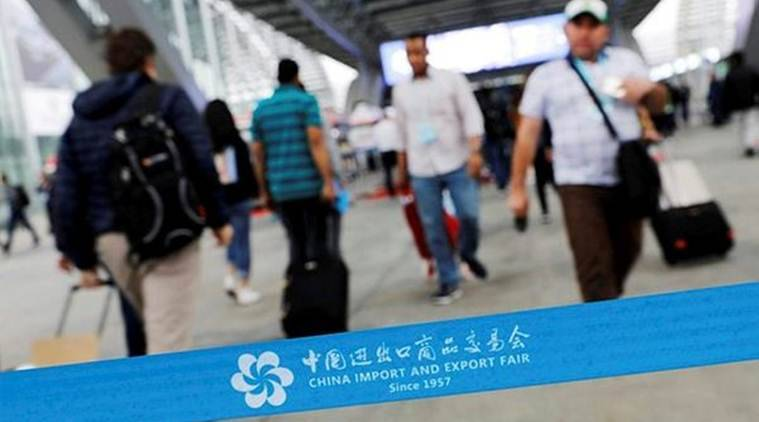 Visitors attend the China Import and Export Fair, also known as Canton Fair, in the southern city of Guangzhou, China. (Reuters file photo)