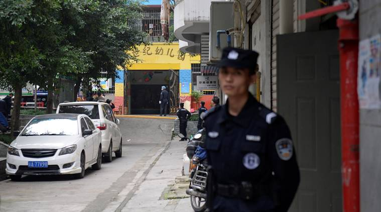 14 kindergarten school children injured after woman attacks with knife in China