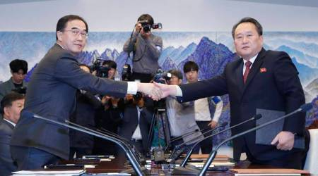 North, South Korea agree to reconnect roads, rail amid US concern over easingsanctions