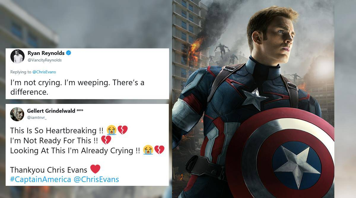 Chris Evans bids farewell to Captain America