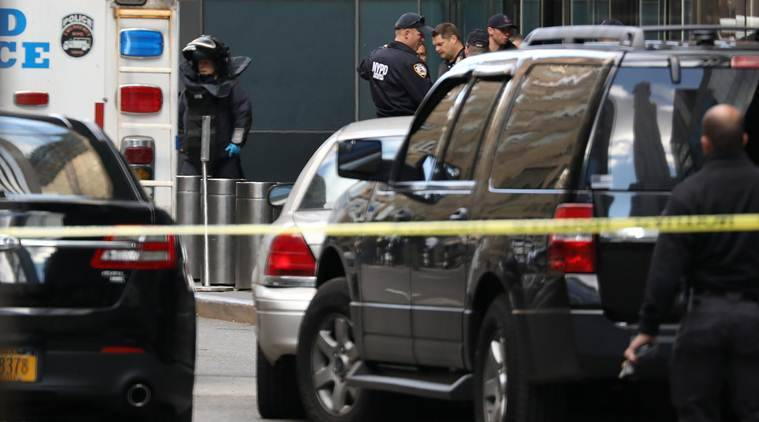 Second suspicious package addressed to CNN intercepted at