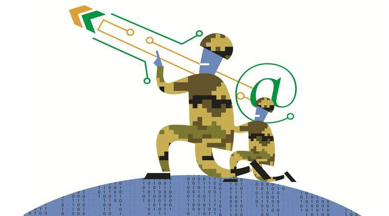 cyber warfare, indian military, us military, military cyber warfare, ministry of defence, defence cyber agency, cyber attack, indian express column