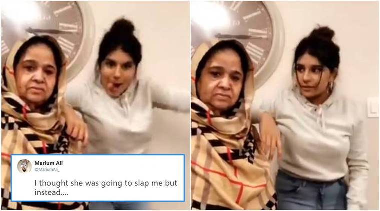 grandmother viral tweet, grandma dances granddaughter viral video, dancing aunty, dancing aunty viral video, viral