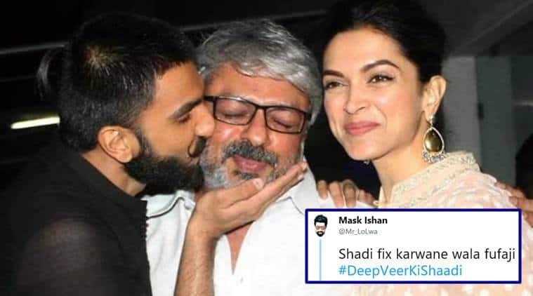 Deepveerkishaadi This Thread On Deepika Padukone Ranveer Singh S Wedding Has Twitterati Rofl Ing Trending News The Indian Express