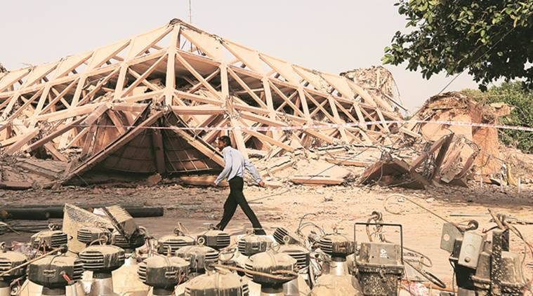 To maintain air quality, South Delhi's civic body asks NBCC to stop construction at Pragati Maidan