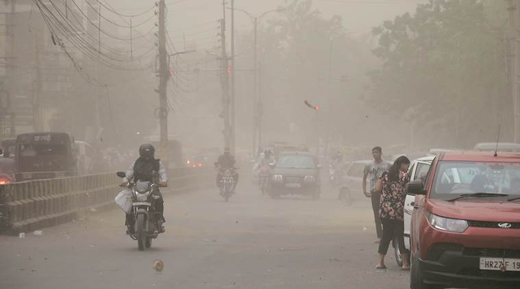 Light drizzle brings air quality down to 'poor' — for a few hours
