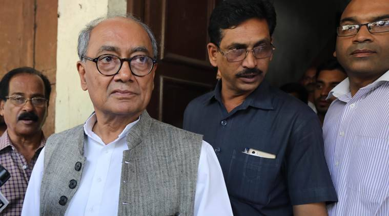 Kamal Nath, Digvijay Singh, Madhya Pradesh CM, Lok Sabha elections 2019, Lok Sabha polls, election news, Indian Express news