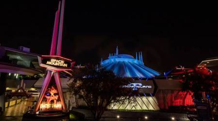 Halloween, Disneyland, Disneyland Halloween rides, Pirates of the Carribean, Haunted Mansion, Indiana Jones Adventure, Space Mountain Ghost Galaxy, indian express, indian express news