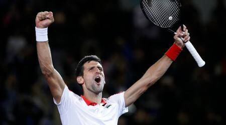 Djokovic displaces Federer as No. 2; Halep to finish No. 1