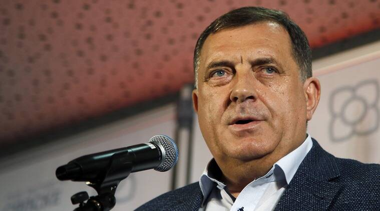 Pro-Russian Serb leader Milorad Dodik wins seat in Bosnia's presidency