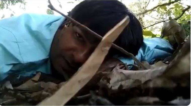 Chhattisgarh Naxal attack: DD's assistant camera person who survived ambush, recorded this video for his mother