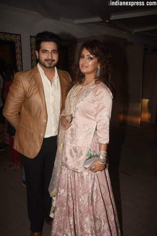 TV actors Karan Mehra and Nisha