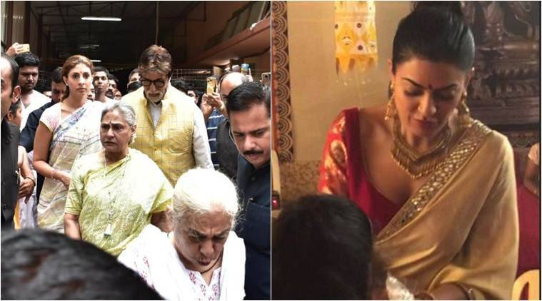 durga pooja 2018 with amitabh bachchan and sushmita sen
