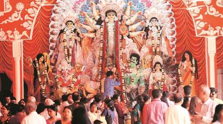 From widows to transgenders, Durga Pujas at CR Park open doors — and hearts