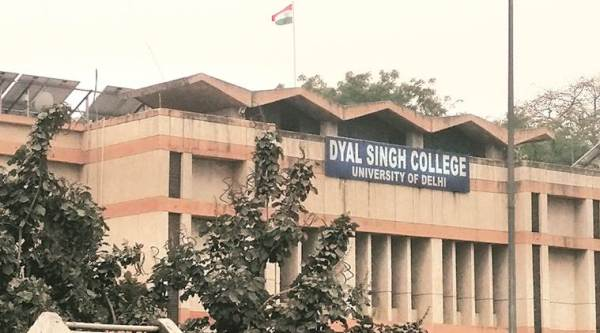 Dyal Singh College martyr wall, martyr wall du college, du colleges, dyal singh college wall, india news