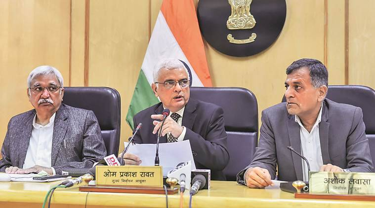 Chief Election Commissioner to visit Hyderabad tomorrow to review poll preparedness