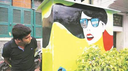 Chhota Bheem to Pather Panchali: Kolkata residents turn electric boxes into canvases