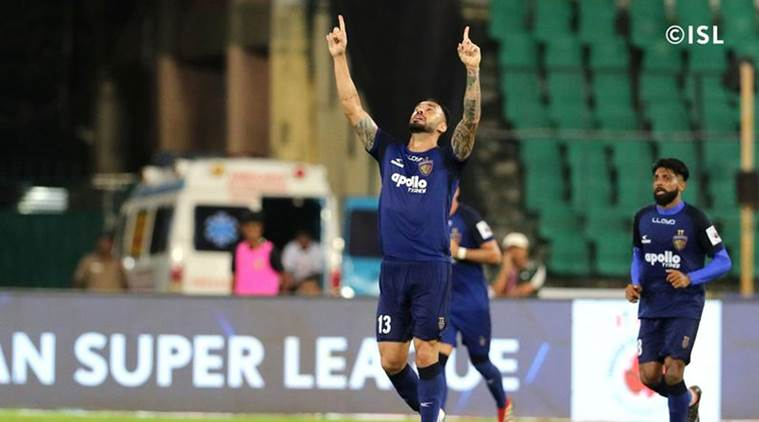 ISL 2018 Football Live Score, Chennaiyin FC vs NorthEast United Football Live Score Streaming: Defending champs searching for first win