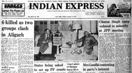 October 6, 1978, Forty Years Ago: Six dead inAligarh