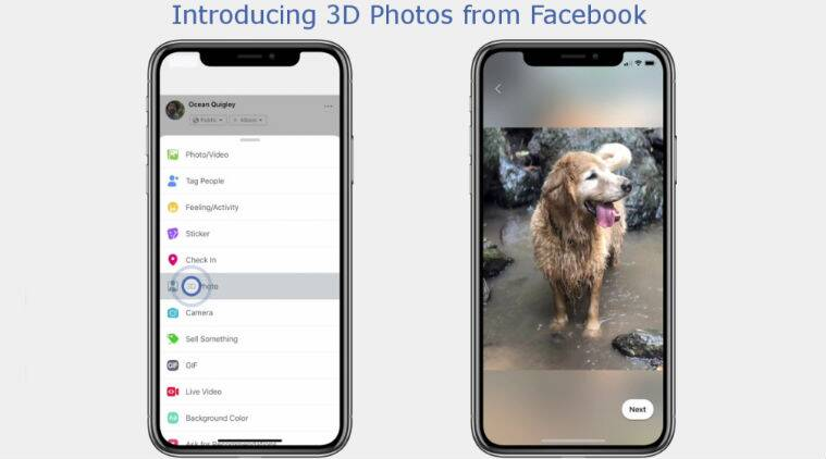 Facebook 3D Photos, what is Facebook 3D photos, How to create Facebook 3D photos, How to share Facebook 3D photos, Facebook 3D photos iPhone, iPhone Facebook 3D photos, Facebook