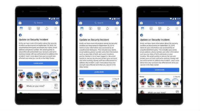 facebook, facebook data breach, Mark Zuckerberg, Facebook users, Facebook data theft, cyber attack, cyber security, Facebook, Technology news, Indian Express