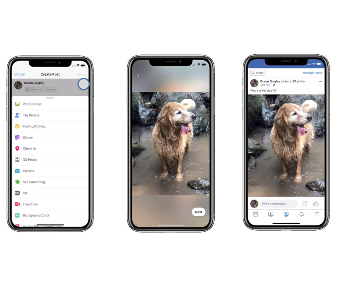 Facebook 3D Photo feature: How to upload, post these from your