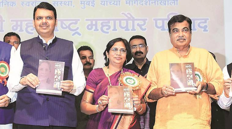 devendra fadnavis, maharashtra cm devendra fadnavis, ram temple, ram temple dispute, lok sabha polls, lok sabha elections, indian express