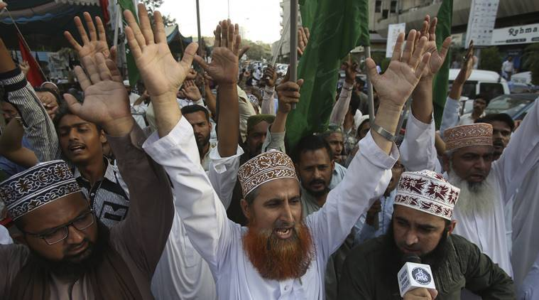 Protests break out after Pakistan's SC acquits Christian women facing death for blasphemy