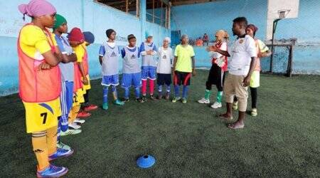 Somalia's first female soccer club score a breakthrough for genderequality