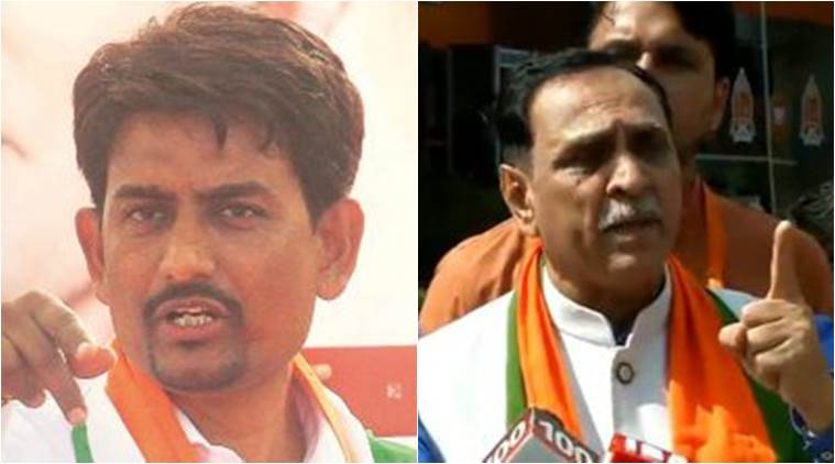 alpesh thakor, vijay rupani, gujarat case filed, tamanna hashmi, gujarat rape, gujarat migrants issue, gujarat north indians, indian express, india news