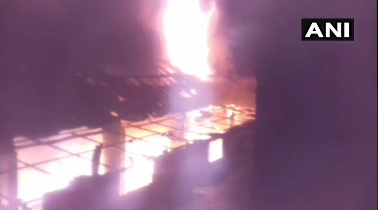 Massive fire breaks out at chemical factory in Kolkata's Tangra area