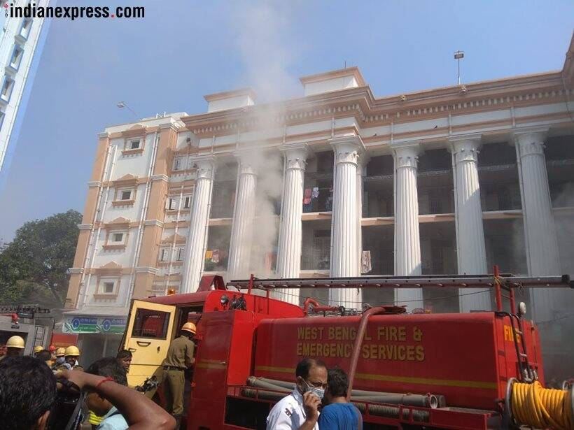 Fire breaks out in pharmacy department of Kolkata medical college, no injuries