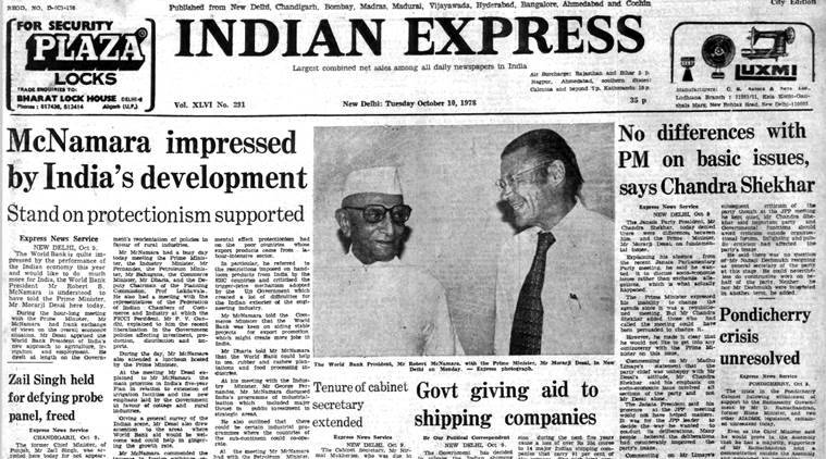 Forty Years Ago, October 10, 1978: Janata Divide