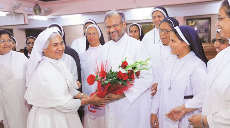Father Kuriakose Kattuthara was considered to be a key witness in a rape case against Jalandhar Bishop Franco Mulakkal (in picture). (Express file photo)