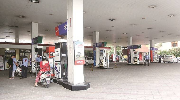 Fuel price, fuel price hike, petrol price, diesel price, Chandigarh news, Indian Express news