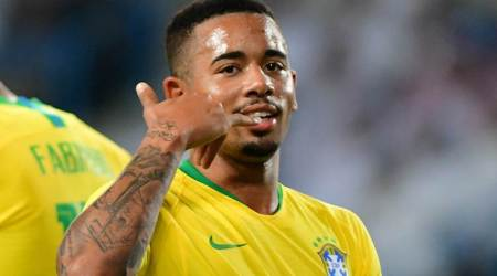Gabriel Jesus scores as Brazil beat Saudi Arabia 2-0 in friendly